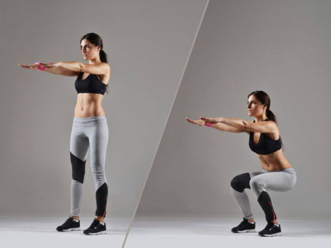 esercizi cellulite gambe