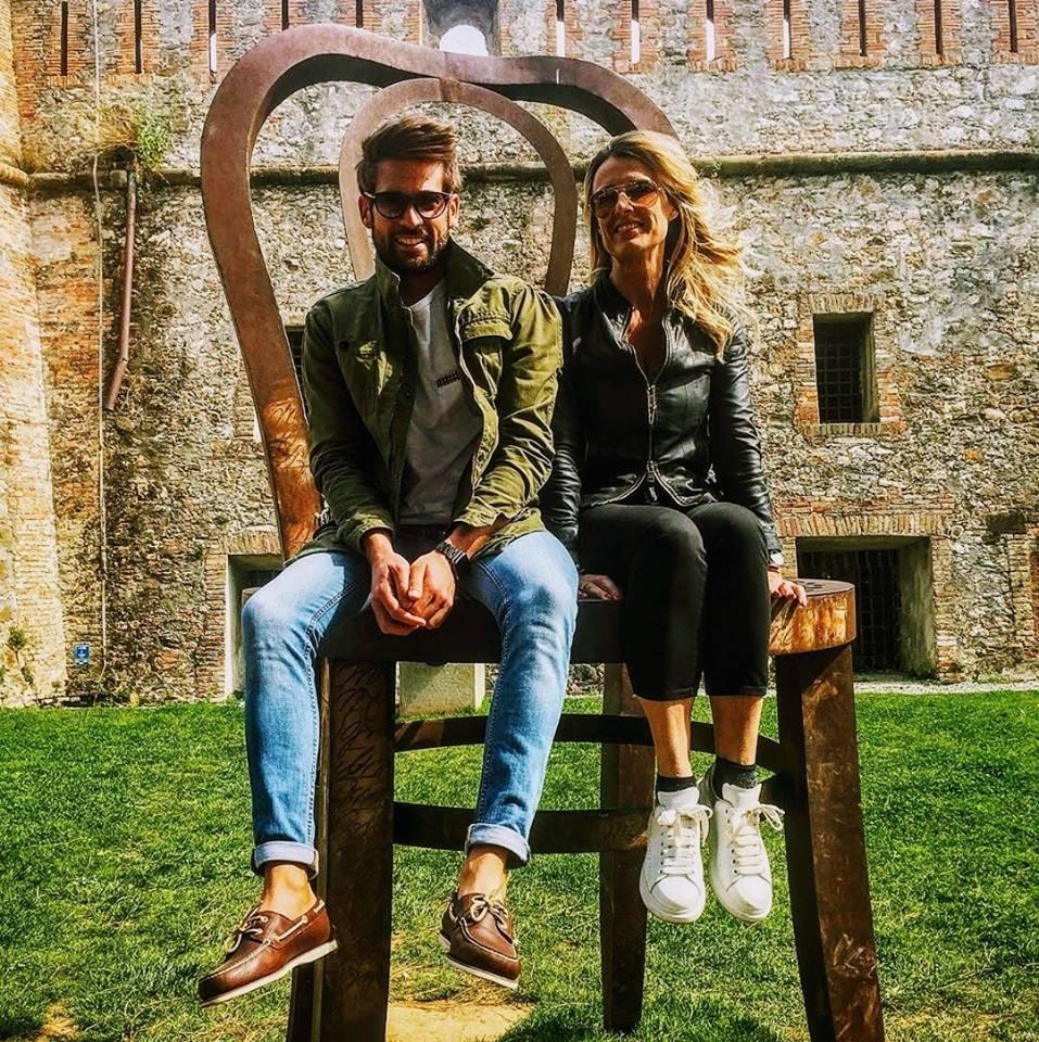 Sabrina Martinengo e Nicola Tedde