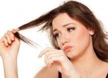 capelli rovinati e sfibrati