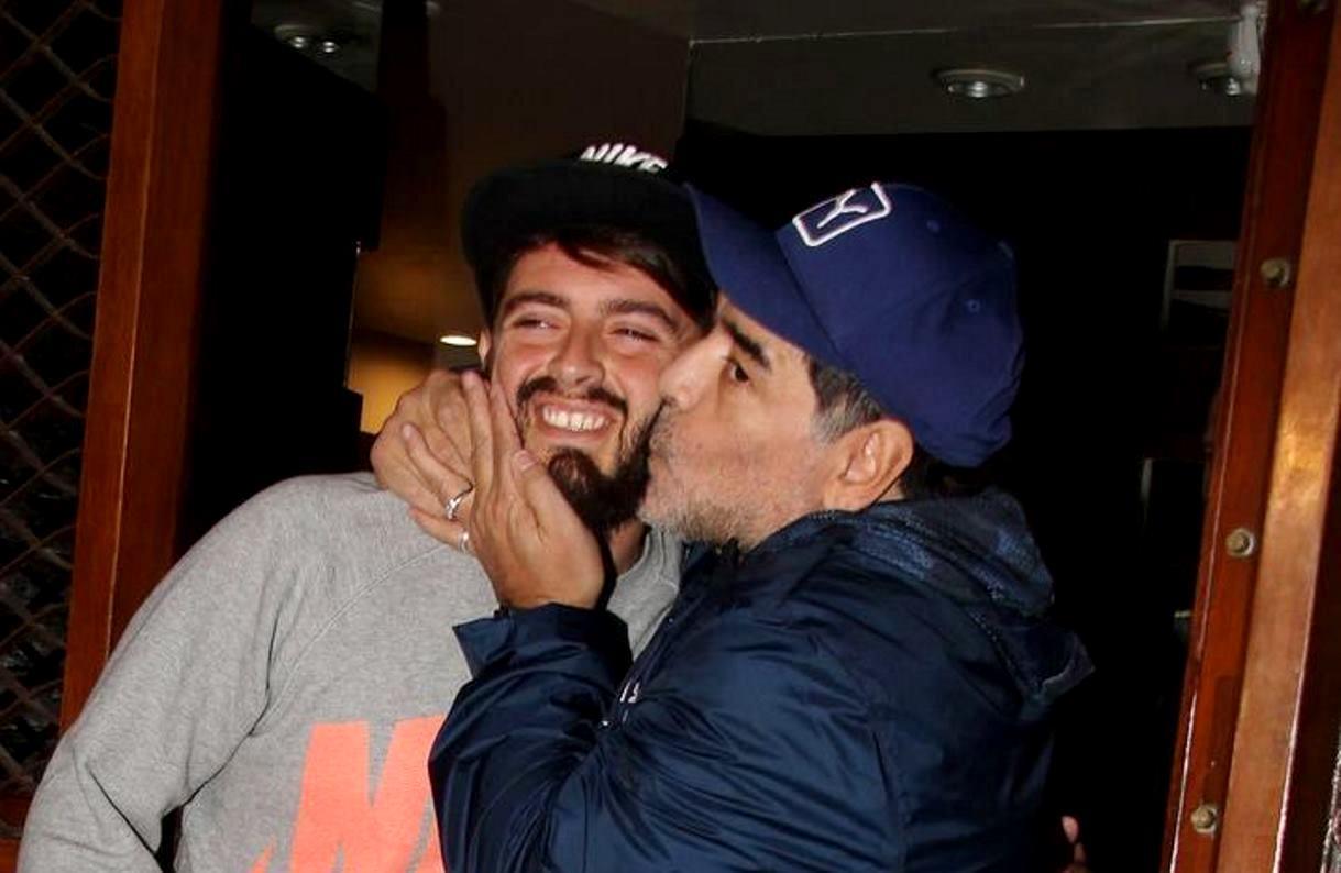 Diego Maradona Jr, la moglie aspetta il secondo figlio ...