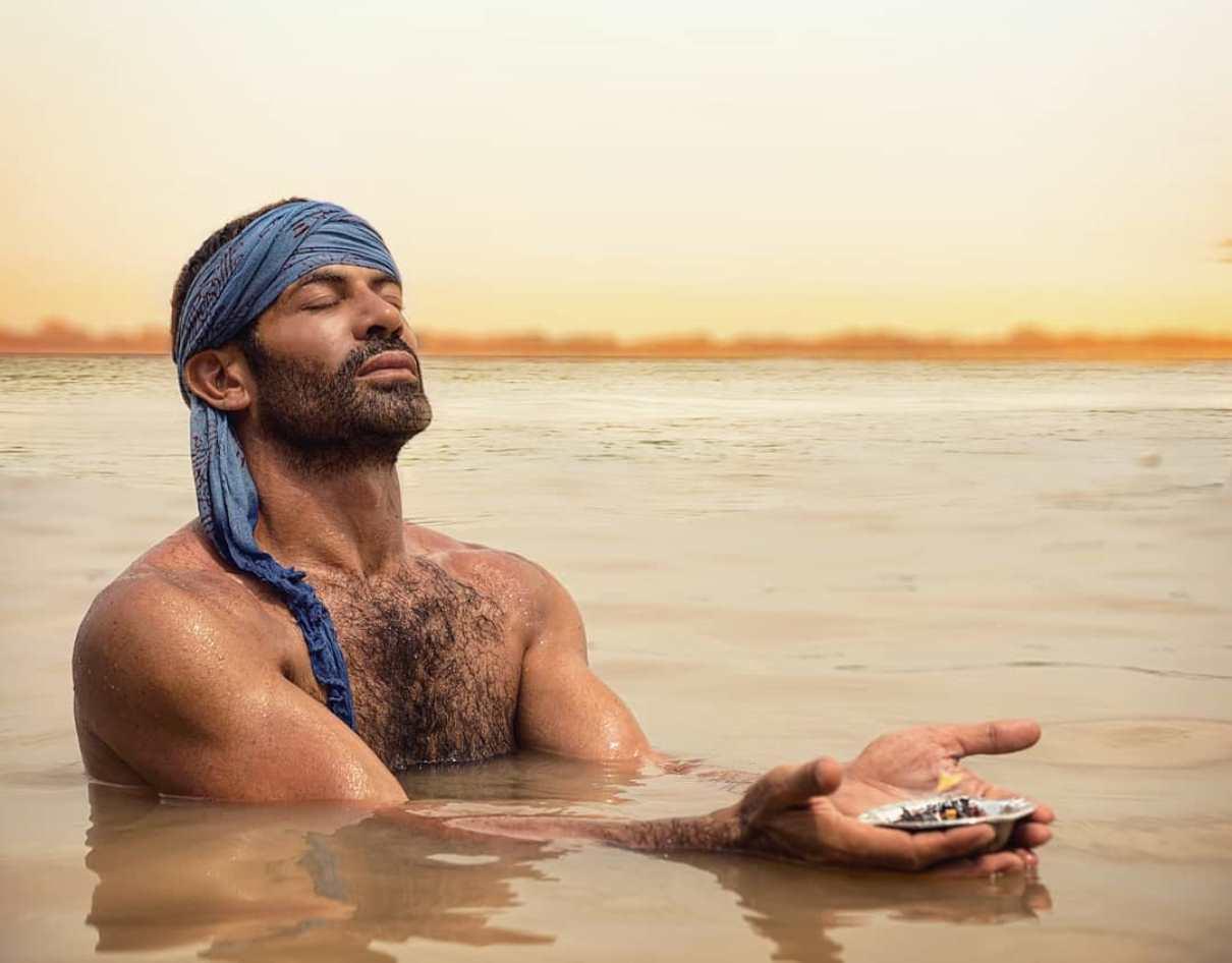 Gianni Sperti in India