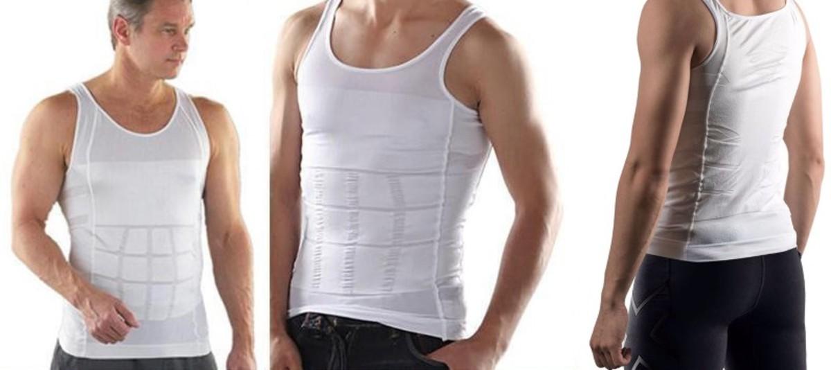 maglietta dimagrante uomo