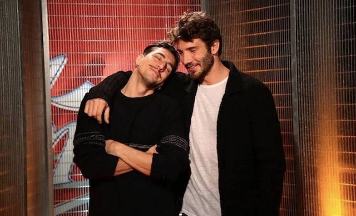Stefano De Martino e Marcello Sacchetta, pace fatta: il video