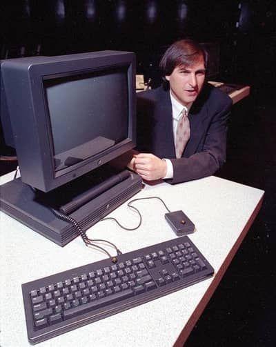 steve jobs 1990