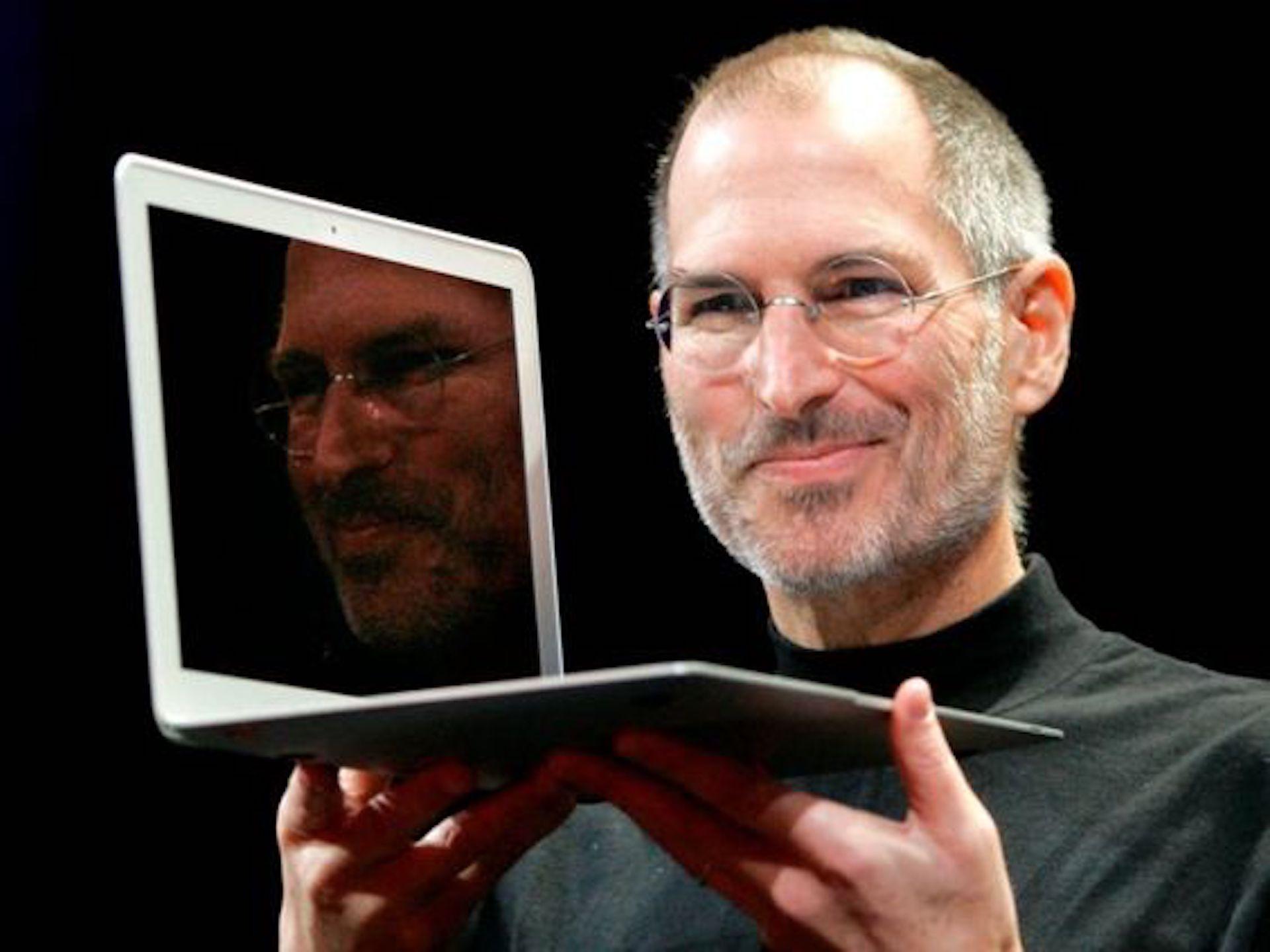 steve jobs macbook