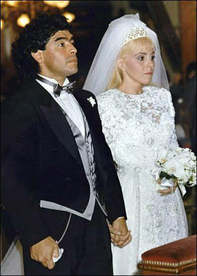 Diego Maradona moglie Claudia Villafañe
