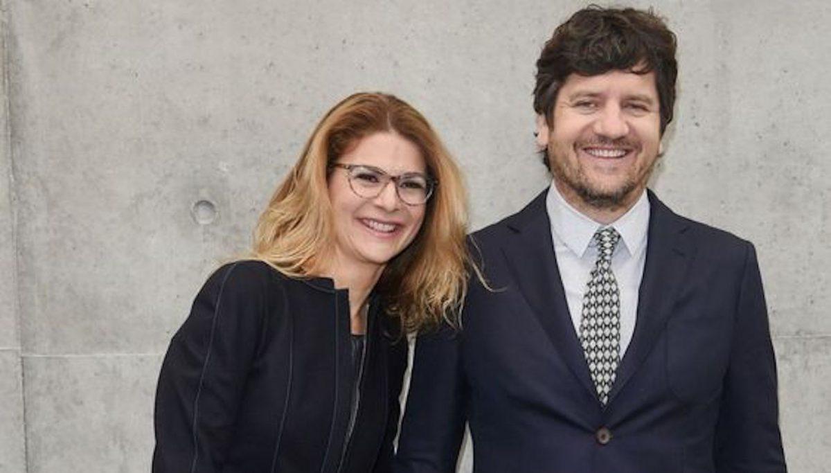 Jelena Ilic e Fabio De Luigi