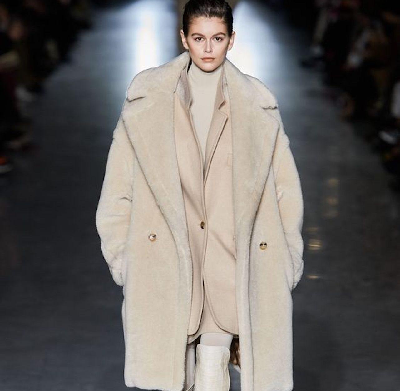 Cappotto in lana e mohair | Cappotti, Cappotti lunghi e Piumini