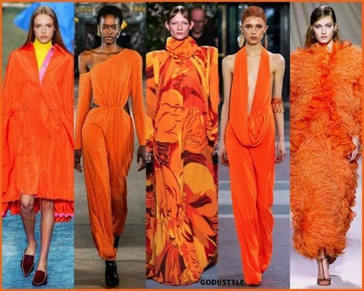 Arancione: il colore che accende il guardaroba primaverile