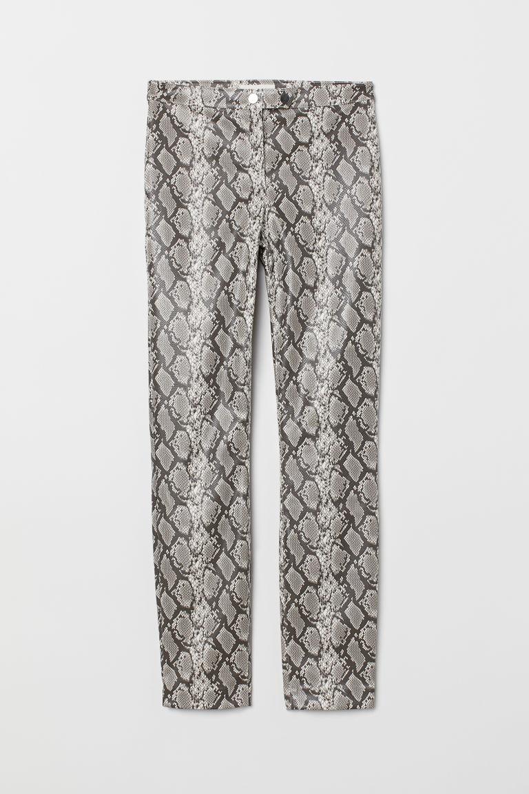 pantalone pitonato