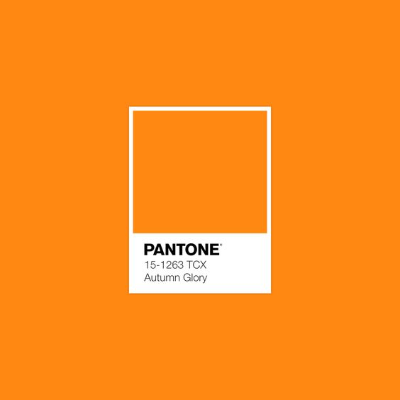 AUTUMN GLORY PANTONE