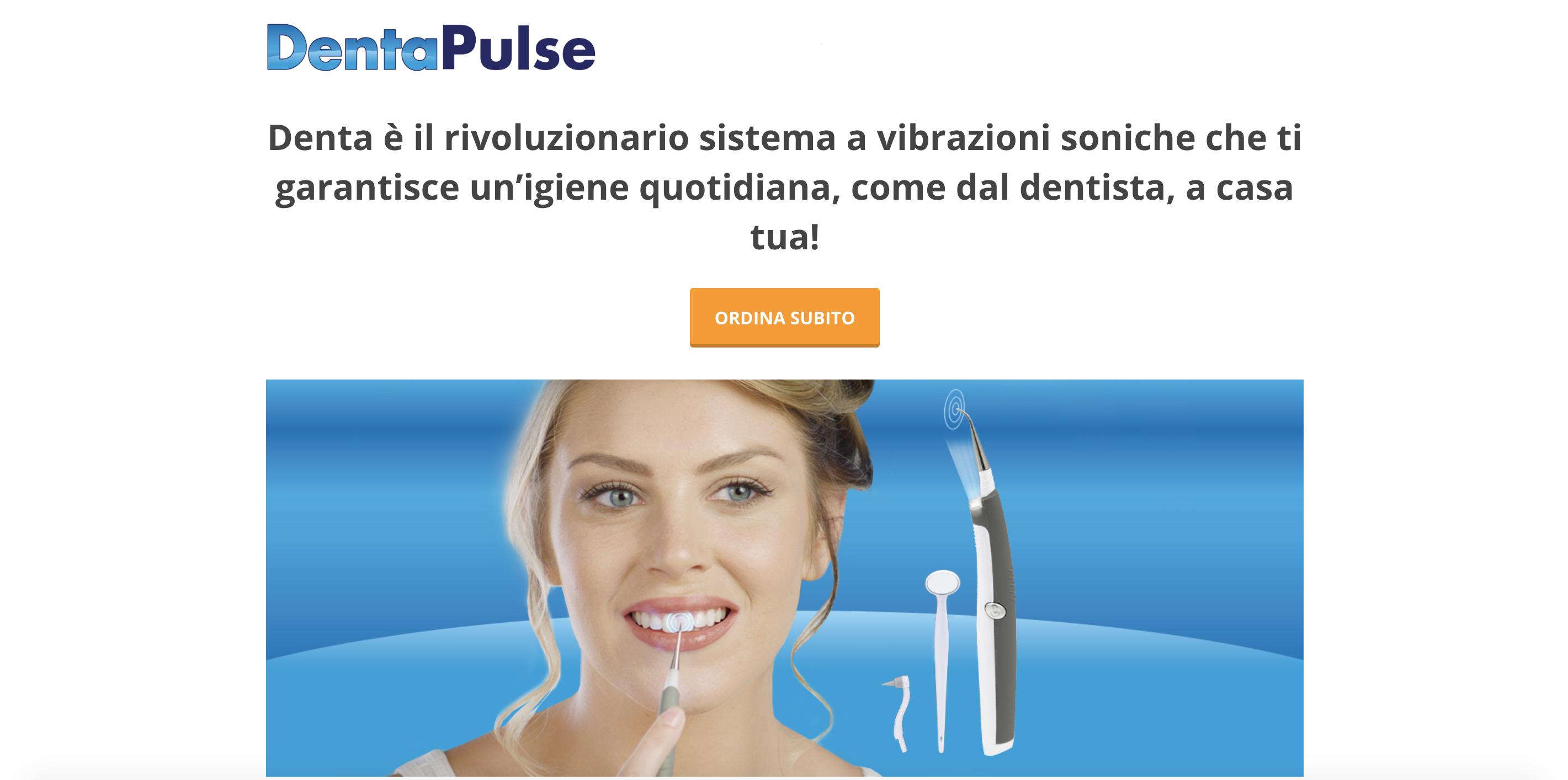 Denta Pulse: recensione sullo sbiancamento dentale led