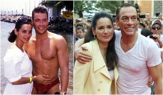 Van Damme's wife