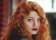 tendenza capelli e makeup 2019: l'arancio