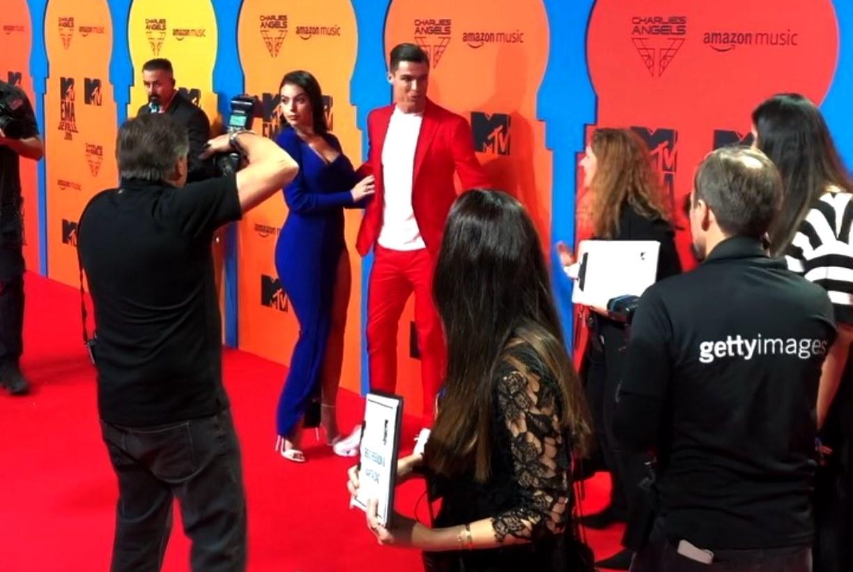 MTV EMA 2019 red carpet