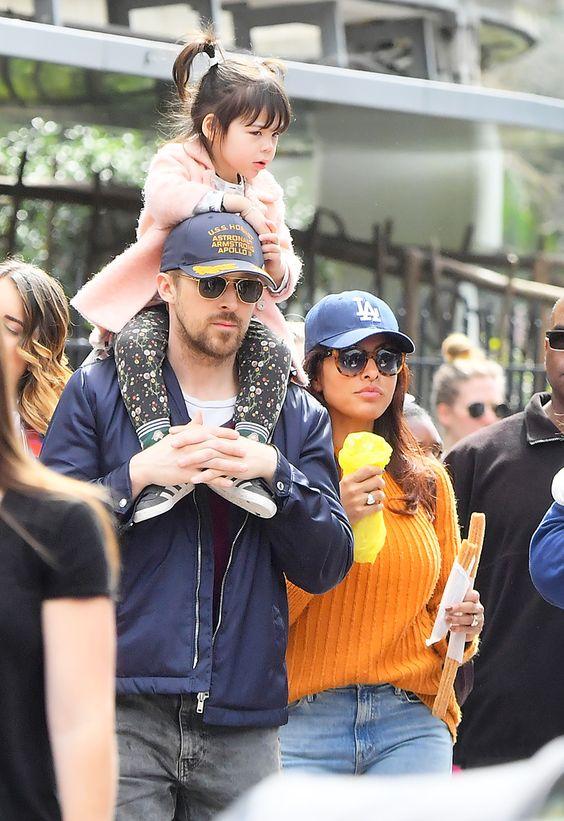 Ryan Gosling e Eva Mendez