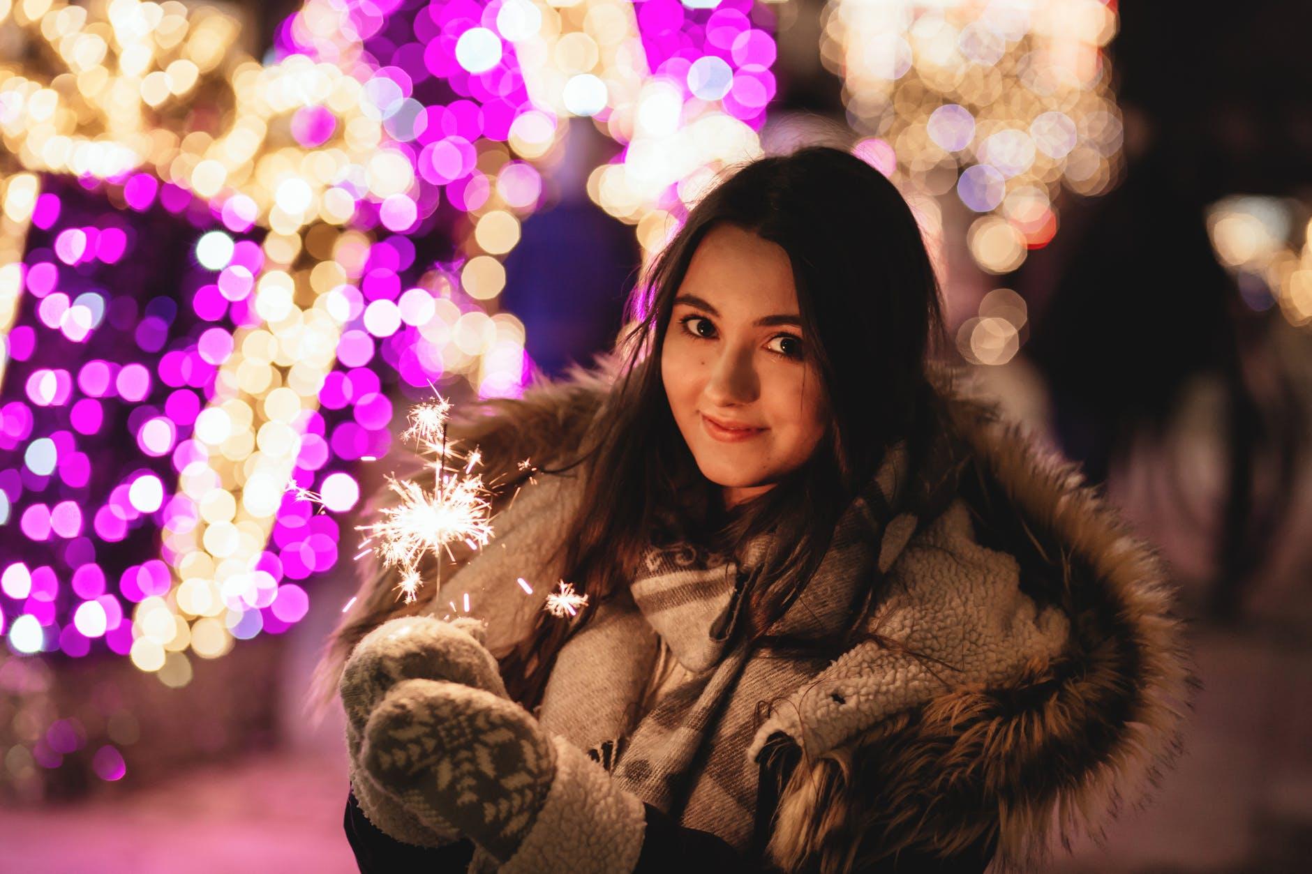 guanti invernali da donna