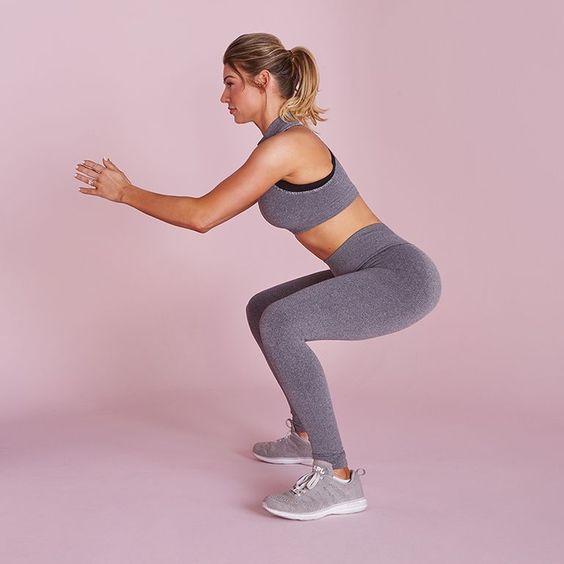 Esercizi cardio da fare a casa squat