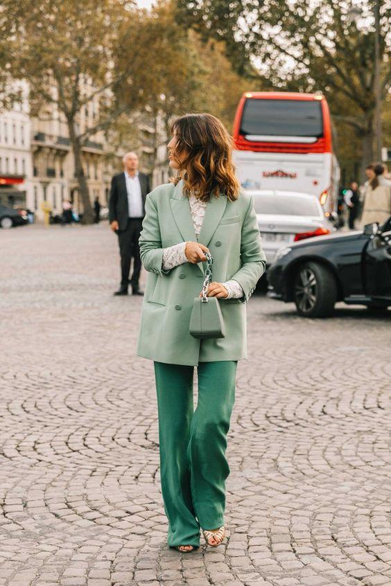look verde salvia
