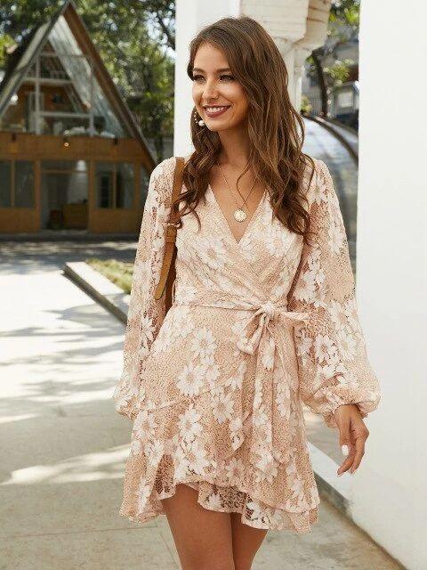 vestito floreale 2020