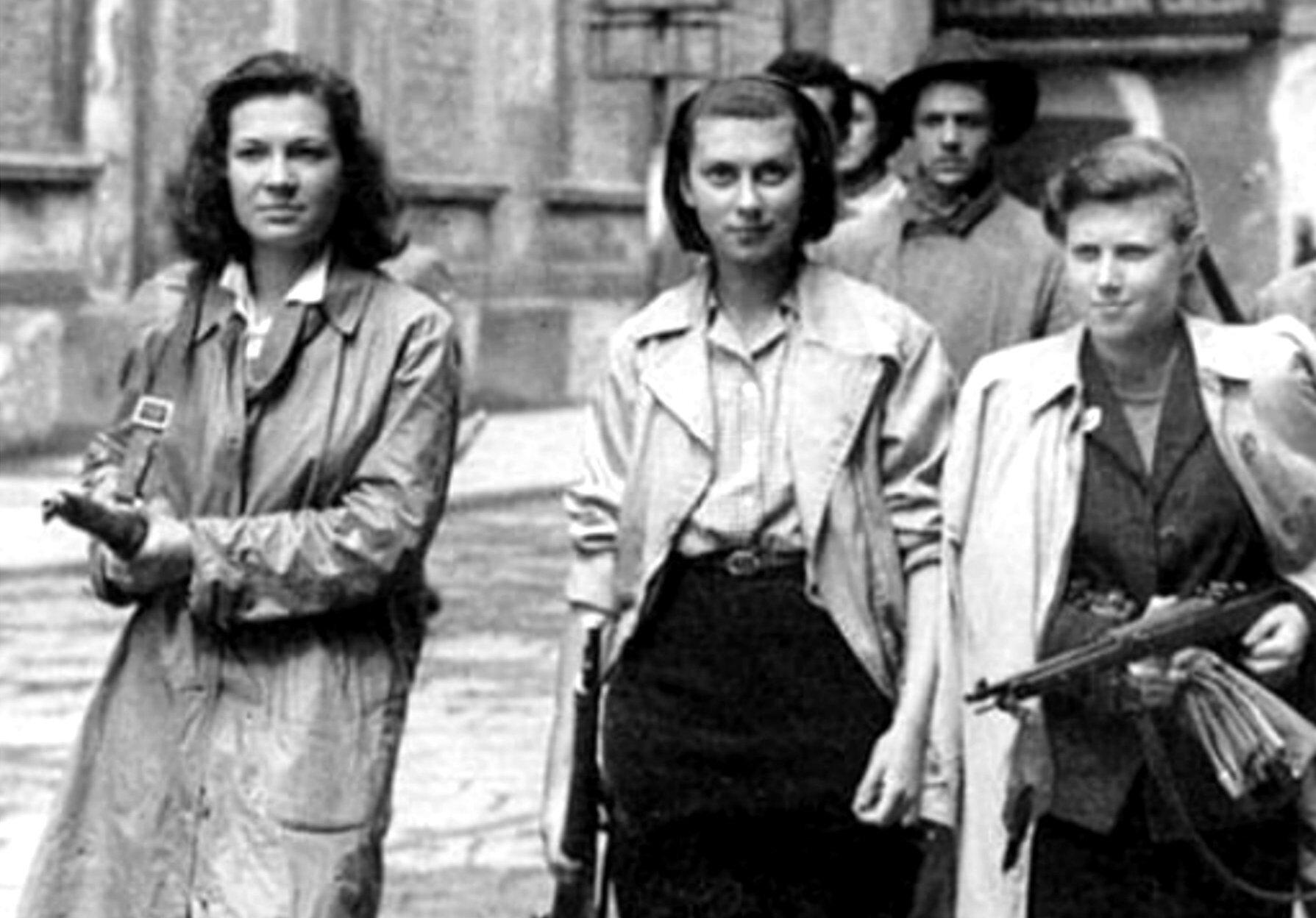 25 aprile donne resistenza