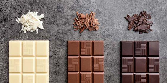 Cioccolato al latte e fondente