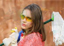 Come pulire il mocio per i pavimenti