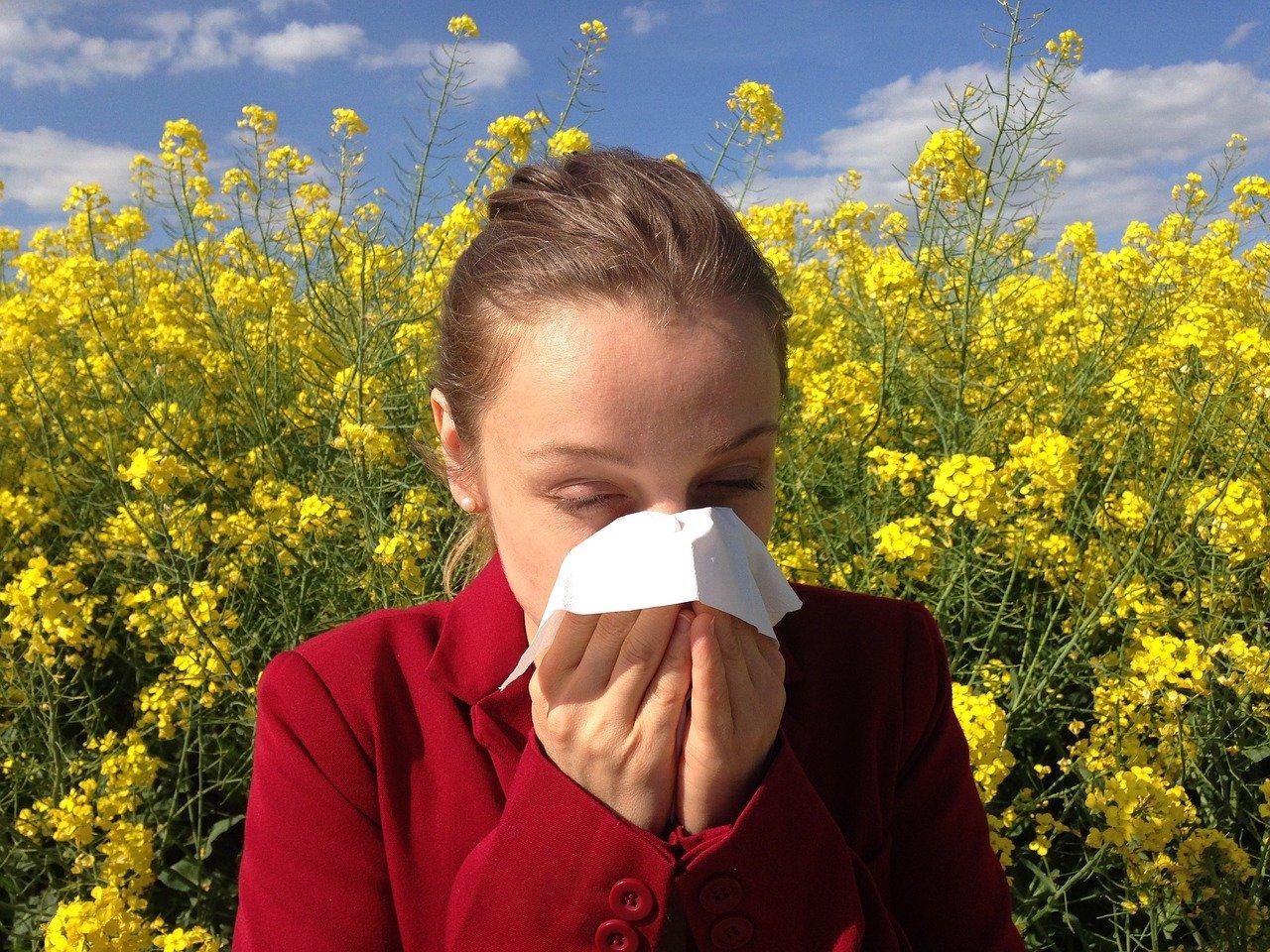 Coronavirus allergie primaverili