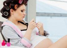 smalto in gravidanza pro contro