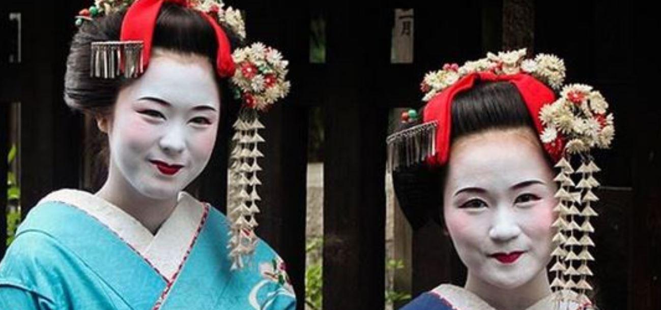 tutorial trucco da geisha