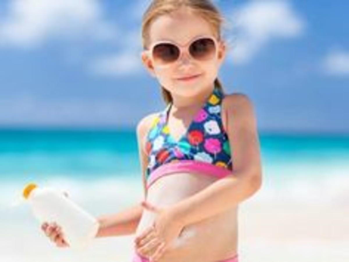 creme solari per bambine
