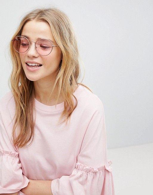 occhiali da sole lenti rosa