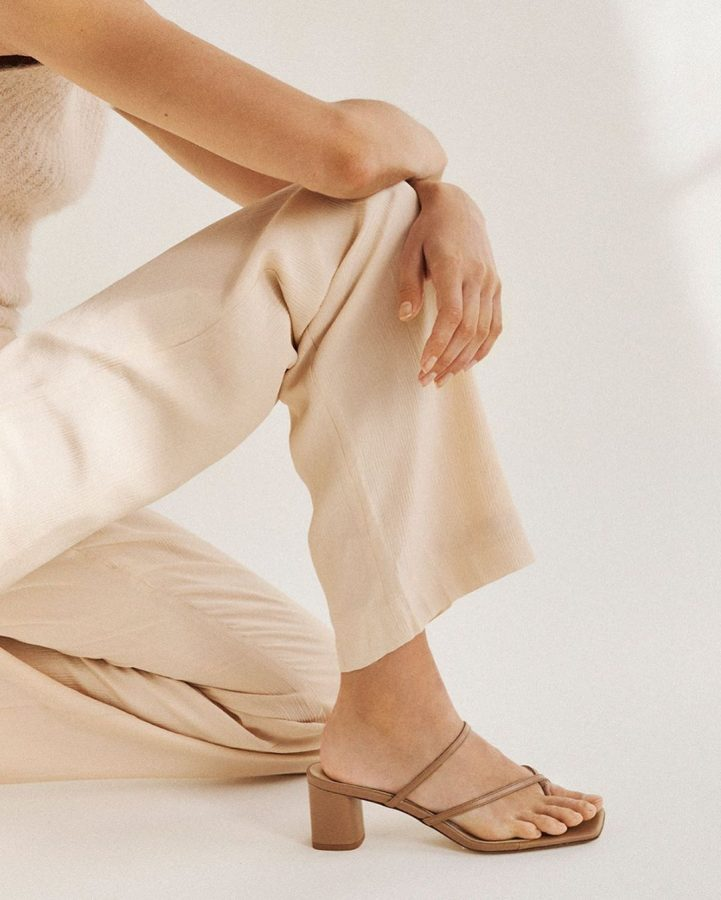 sandali tacco comodo