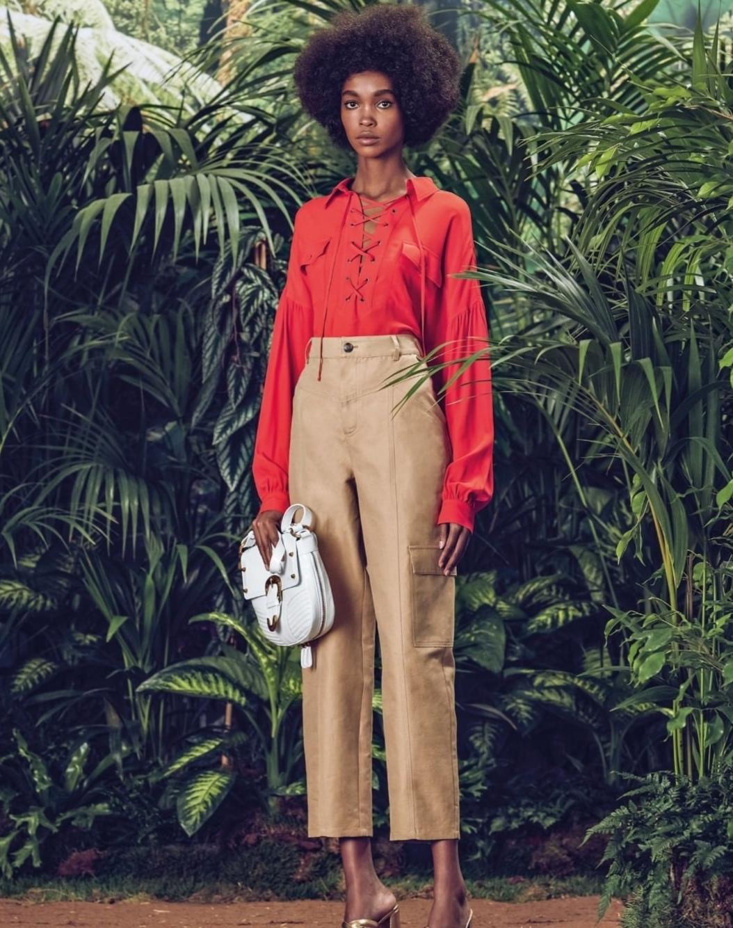 Pantaloni cropped modello Twinset