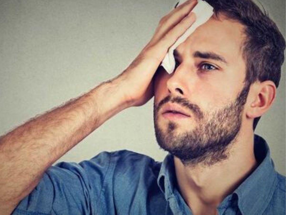 sudorazione eccessiva cause