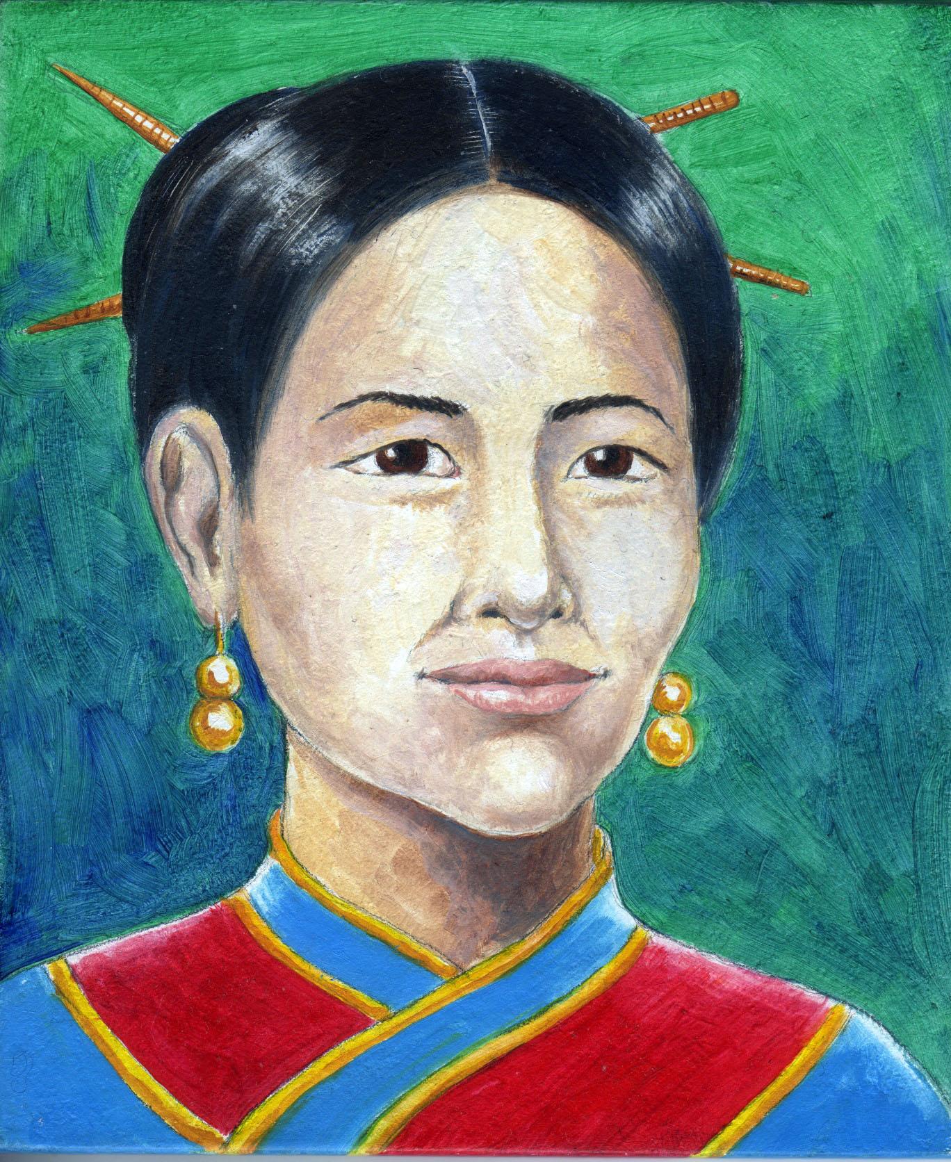 wang zhenyi: chi era