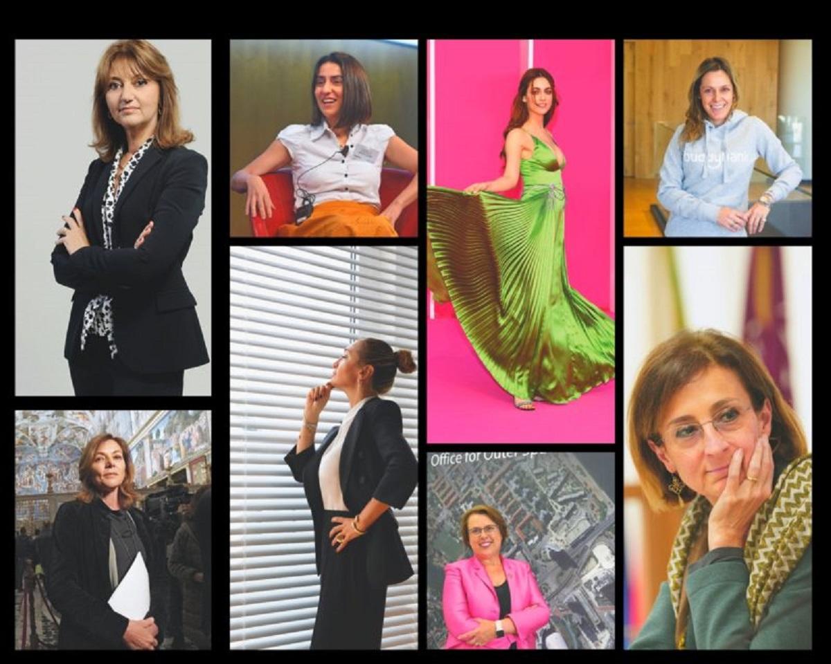 100 donne italiane di successo
