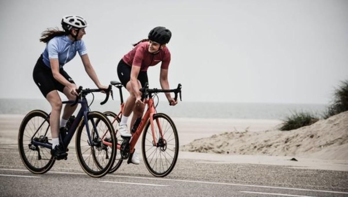 allenamento in bicicletta