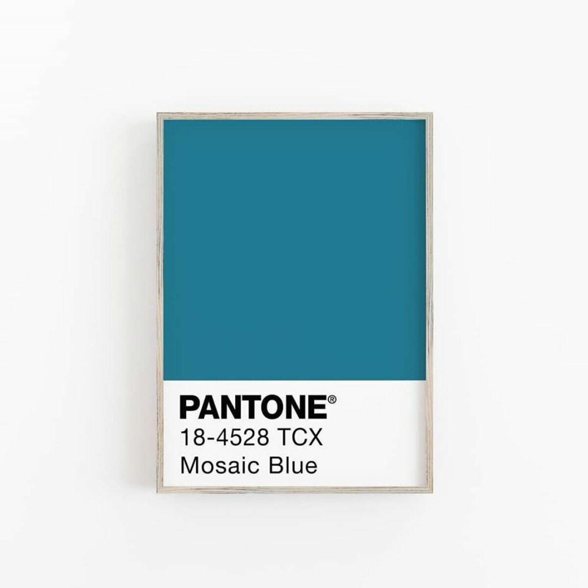 Mosaic Blue Pantone