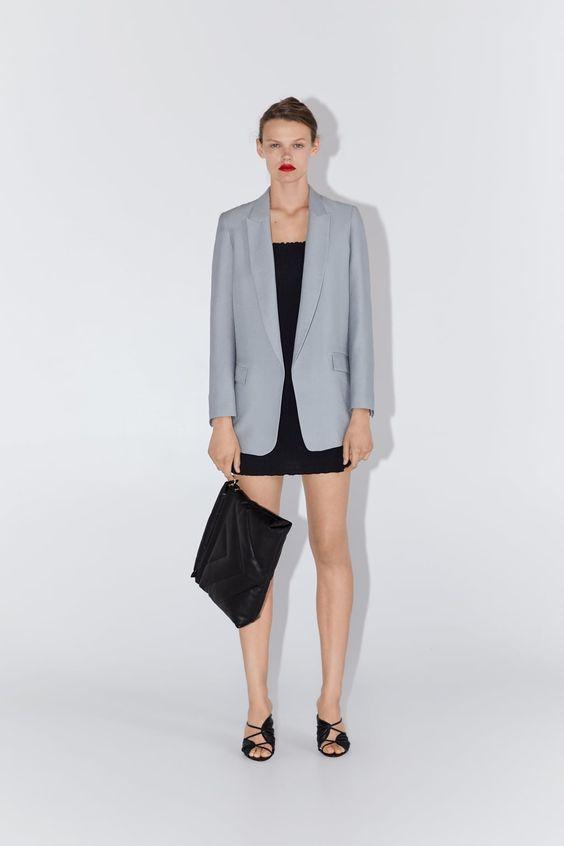 vestito maxi blazer