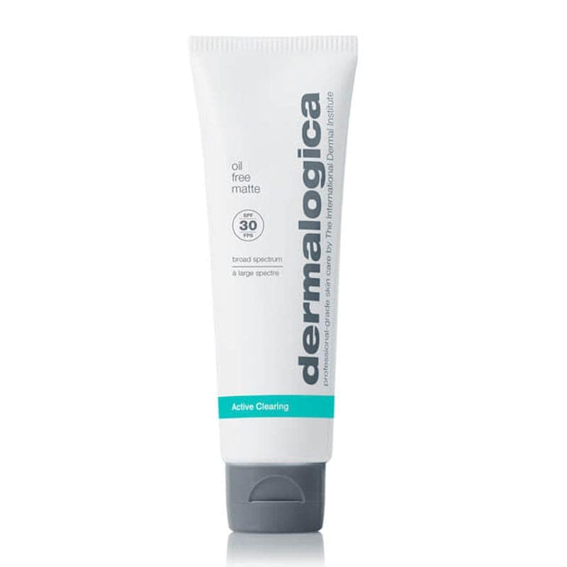 Crema solare per pelle acneica