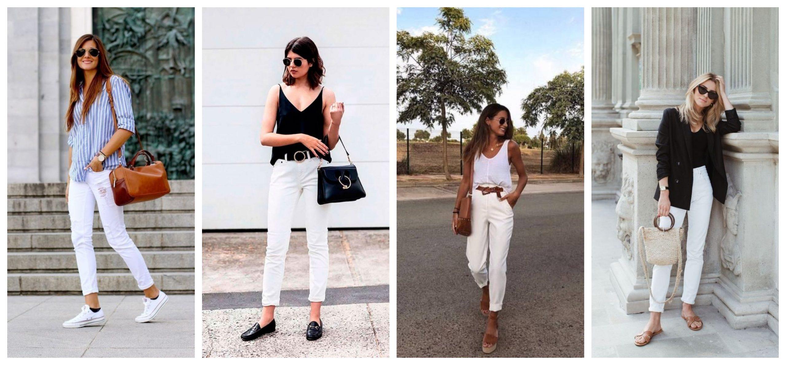 jeans bianco come abbinarlo