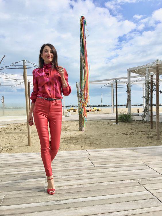look monocolore tendenza estate 2020