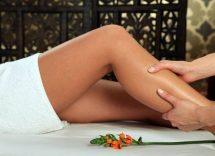 Massaggio drenante gambe fai da te