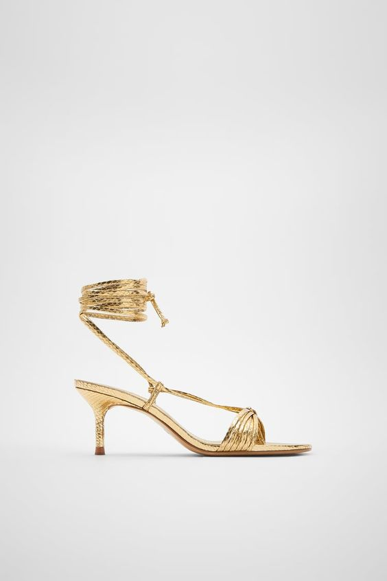 sandali eleganti zara
