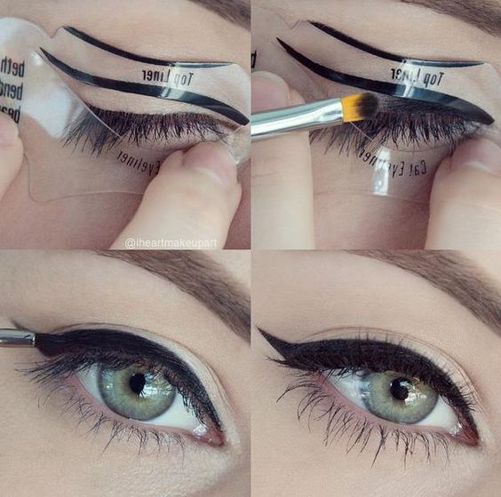 come applicare eyeliner facilmente