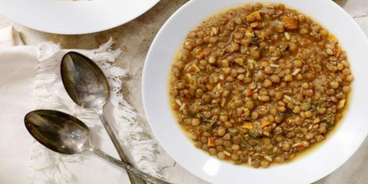 dieta delle lenticchie menù