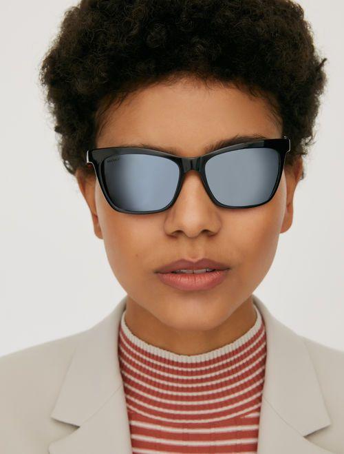occhiali astine a contrasto