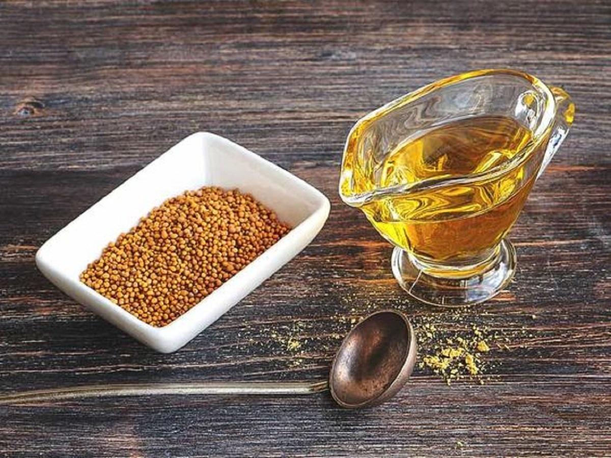olio di senape benefici
