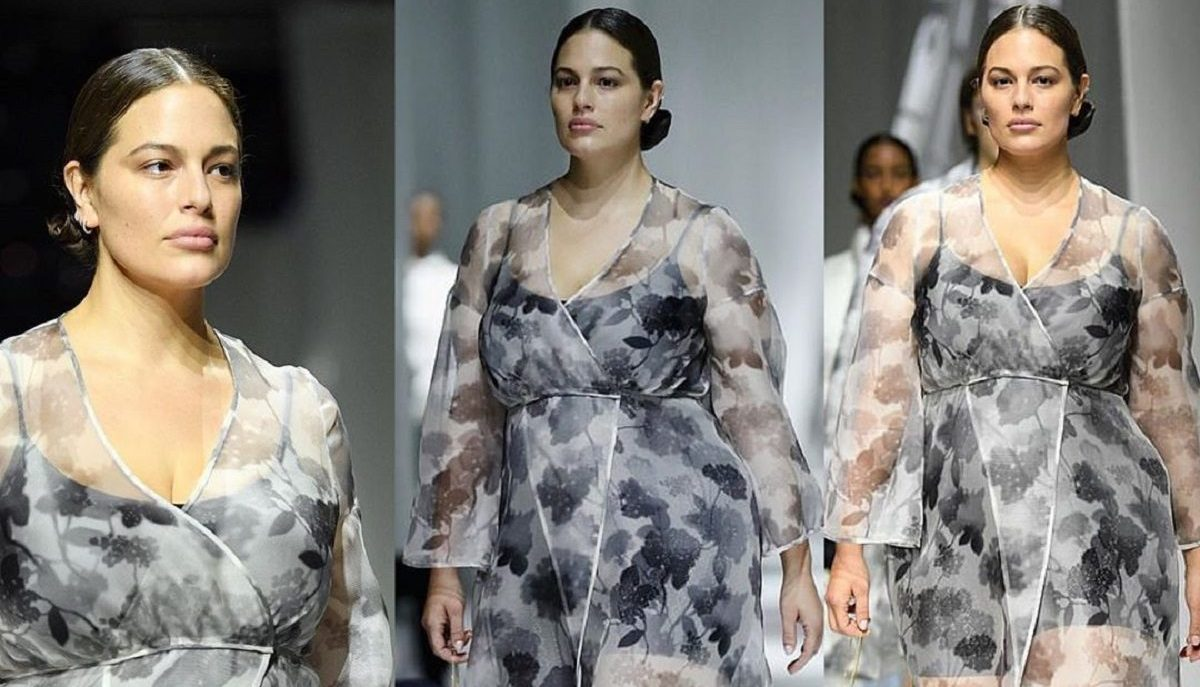 ashley graham milano fashion week